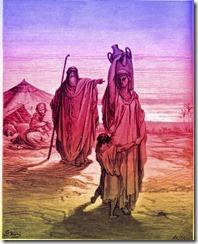 Genesis-Chapter-21-Abraham-Sends-Hagar-and-Ishmael-Away