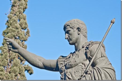 Statue of Caesar Augustus