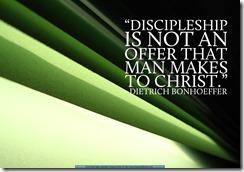 Discipleship: Talking The Talk