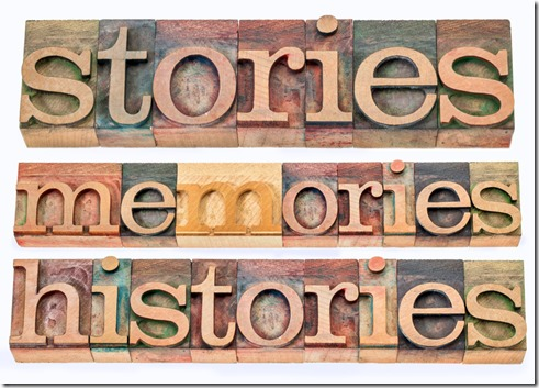 It's Not History Without a Story